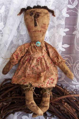 EXTREME PRIMITIVE DOLL PRIM DOLL PATTERN!!!  EASY TO MAKE!! PERFECTLY PRIM!!!