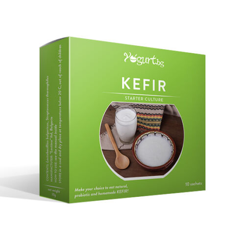 Lactina KEFIR Yogurt.bg - Starter culture - Digestive Health,Detoxifying-for 10l