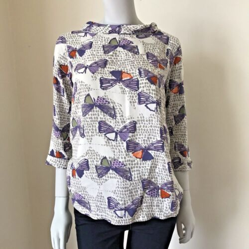 EX WHITE STUFF Flutterby Top SOLD OUT £40 UK 8 10 12 *LMT WHIMSY* BRAND NEW