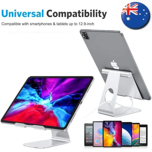 Adjustable Stand For iPad iPhone Galaxy Universal Fold Holder Tablet Mount Apple