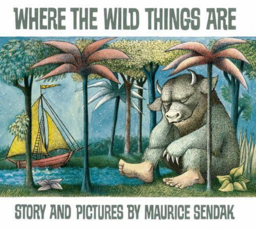 Where the Wild Things are by Maurice Sendak (English) Hardcover Book Free Shippi