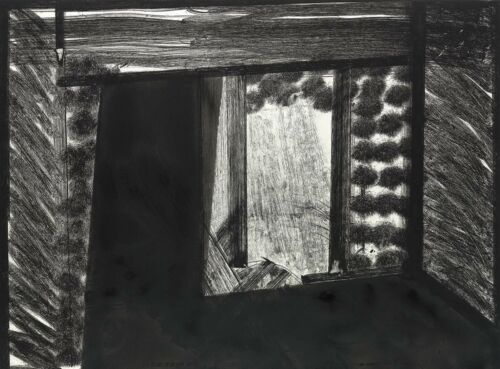HOWARD HODGKIN 'All Alone in the MoMA' 1979 SIGNED Etching Print #5/100 Framed