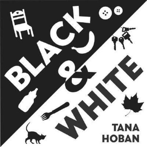 Black & White by Tana Hoban (English) Board Books Book Free Shipping!