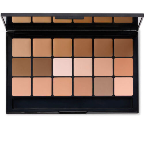 RCMA Makeup Foundation Concealer Palette VK#11 New SHINTO Contour Highlighter