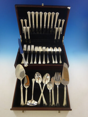 Eighteenth Century by Reed & Barton Sterling Silver Flatware Set Service 50 Pcs