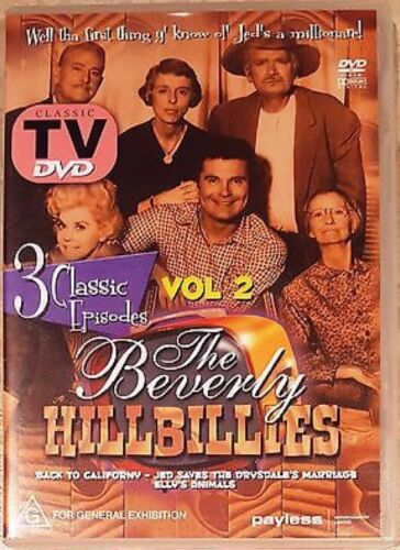 The Beverly Hillbillies Vol. 2 (3 Classic Episodes) DVD (All Regions PAL)