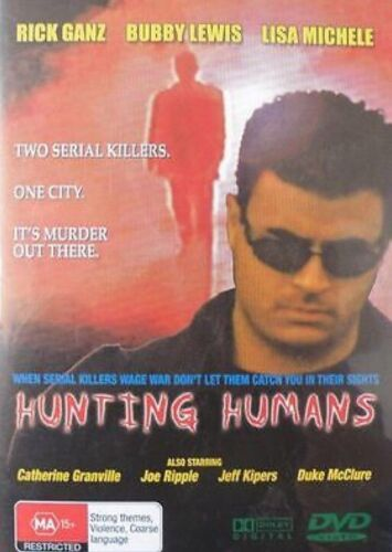 HUNTING HUMANS BRAND NEW AND SEALED DVD REGION ALL PAL