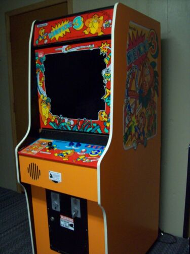 Top Holiday Gifts Donkey Kong 3 Fully Restored, Original Video Arcade Game with Warranty & Support