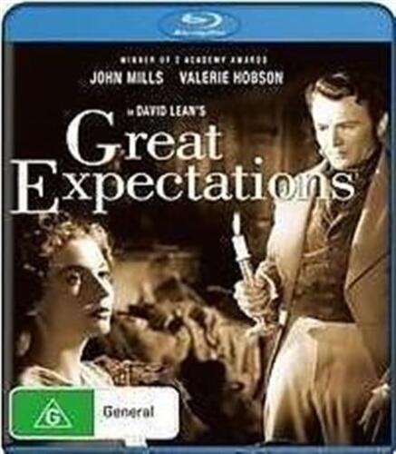 GREAT EXPECTATIONS John Mills, Valerie Hobson BLU-RAY NEW