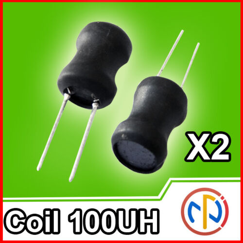 10Pcs Inductor Shell Skeleton Empty Ferrite Core No Inductor 25-100MHZ CoiNWUS
