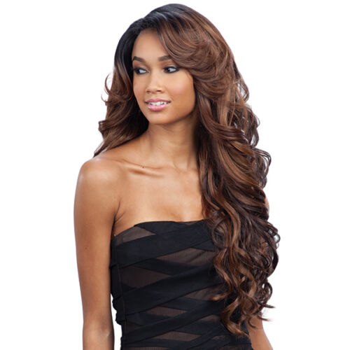 Freetress Equal Synthetic Hair Lace Deep Invisible L Part Lace Front Wig KARISSA