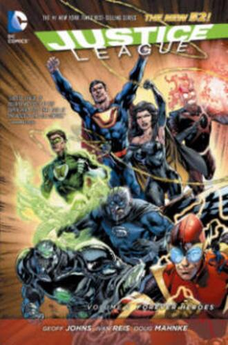 Justice League by Geoff Johns (English) Paperback Book Free Shipping!