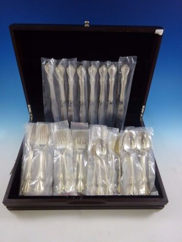 Hampton Court by Reed and Barton Sterling Silver Flatware Service Set 40 Pcs New