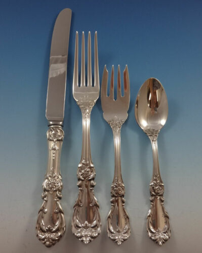 Burgundy by Reed & Barton Sterling Silver Dinner Size Setting(s) 4pc