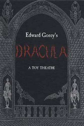 Dracula: A Toy Theatre by Edward Gorey (English) Board Books Book Free Shipping!