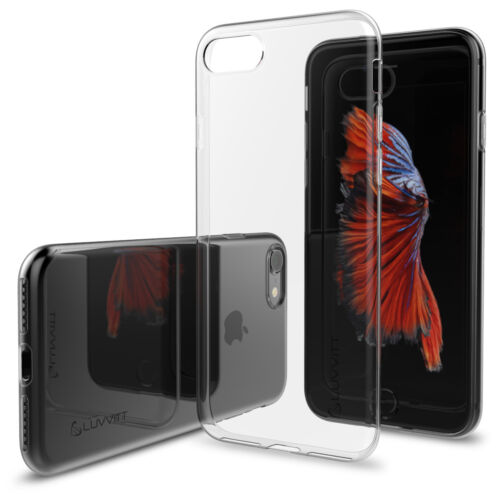 Luvvitt Ultra Slim Flexible TPU Case for iPhone 7 and 8 - Clear
