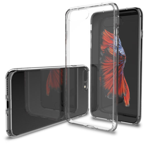 LUVVITT CLEARVIEW Case for iPhone 7 PLUS   Hybrid Back Cover - Crystal Clear