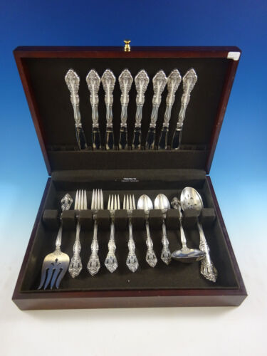 Michelangelo by Oneida Tradition Sterling Silver Flatware Set Service 36 Pieces