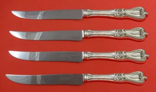 Old Colonial by Towle Sterling Silver Steak Knife Set 4pc Texas Sized Custom