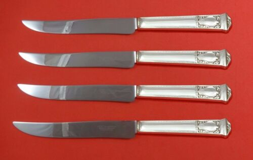 San Lorenzo by Tiffany and Co Sterling Steak Knife Set 4pc Texas Sized Custom
