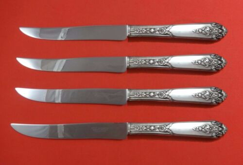 Promise by Royal Crest Sterling Silver Steak Knife Set 4pc Texas Sized Custom