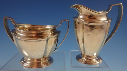 Windham by Tiffany and Co Sterling Silver Sugar and Creamer Set 2pc (#1283)