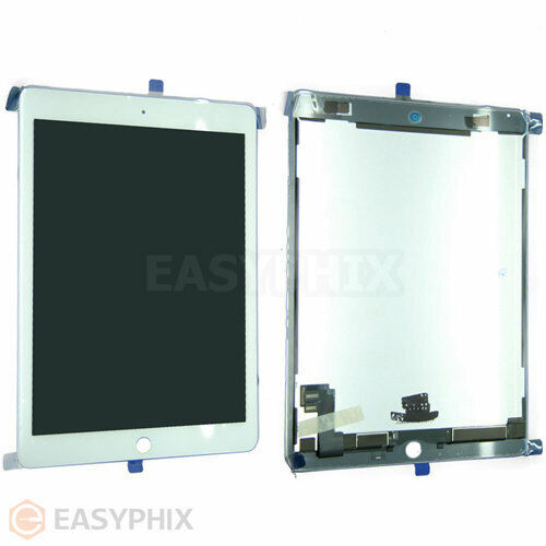 LCD Display Digitizer Touch Screen Glass Assembly for iPad Air 2 2nd Gen White