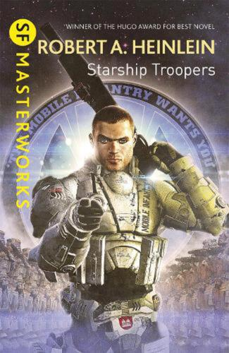 Starship Troopers by Robert A. Heinlein Hardcover Book Free Shipping!