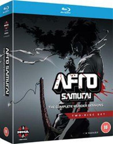 Afro Samurai: The Complete Murder Sessions - Blu-ray Region B Free Shipping!