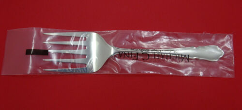 "Du Barry by Carrs Sterling Silver Fish Serving Fork 8 3/4"" (Retail $356) New"