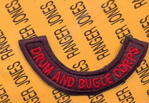 US Army 26th INF DRUM /& BUGLE CORPS tab arc patch