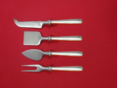 Camellia by Gorham Sterling Silver Cheese Serving Set 4 Piece HHWS  Custom