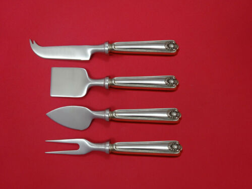 Fiddle Shell by Frank Smith Sterling Cheese Serving Set 4pc HHWS  Custom