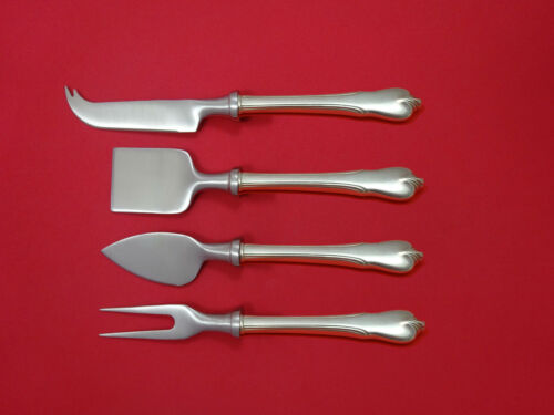 Grand Colonial by Wallace Sterling Silver Cheese Serving Set 4pc HHWS Custom