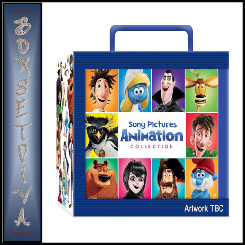 SONY PICTURES ANIMATION COLLECTION - CHRISTMAS BIG FACES LUNCHBOX*BRAND NEW DVD*