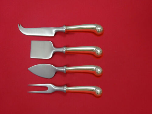 Williamsburg Shell by Stieff Sterling Silver Cheese Serving Set 4 Piece Custom