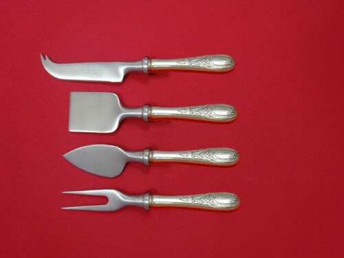 Windsor Castle by Tuttle Sterling Silver Cheese Serving Set 4 Piece HHWS  Custom