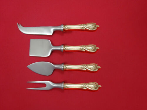 Monticello by Lunt Sterling Silver Cheese Serving Set 4pc HHWS  Custom