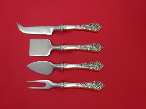 Florentine Lace by Reed & Barton Sterling Cheese Serving Set 4pc HHWS  Custom