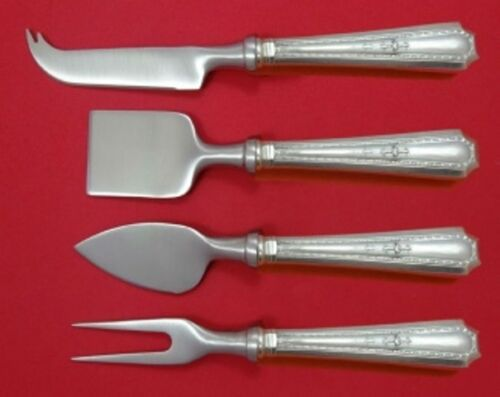 Colfax by Durgin-Gorham Sterling Silver Cheese Serving Set 4pc HHWS Custom