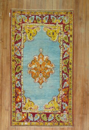 Antique Turkish Oushak Ushak Melas Rug 3'2''X5'7''