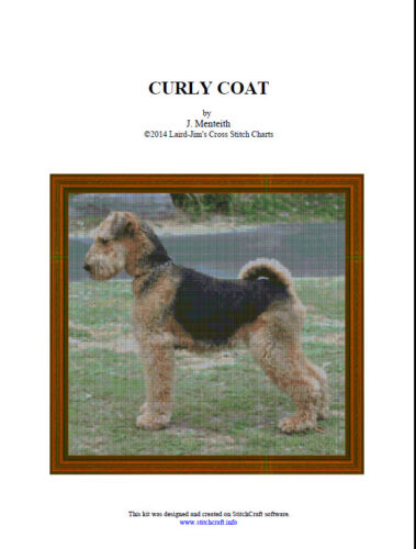 CURLY COAT - Cross Stitch Chart - PDF file