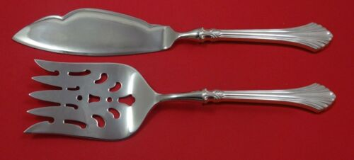 French Regency by Wallace Sterling Silver Fish Serving Set 2 Piece Custom HHWS