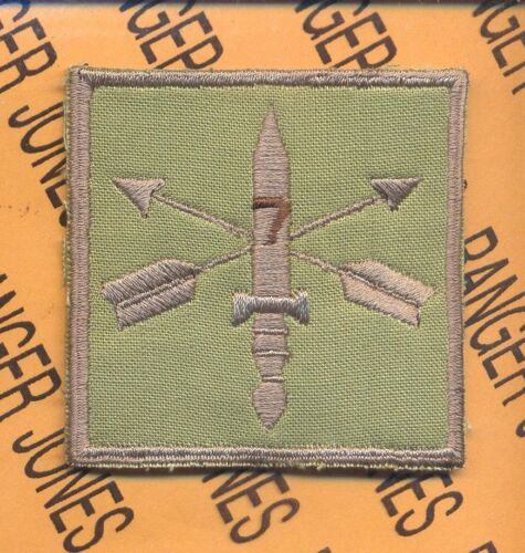 7th Special Forces Group AIRBORNE SFGA Multi-Cam HCI Helmet Cover patchOther Militaria - 135