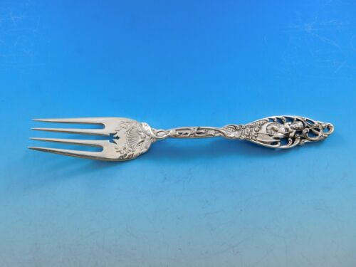 Labors of Cupid by Dominick and Haff Sterling Silver Fish Fork 4-Tine w/ Shells