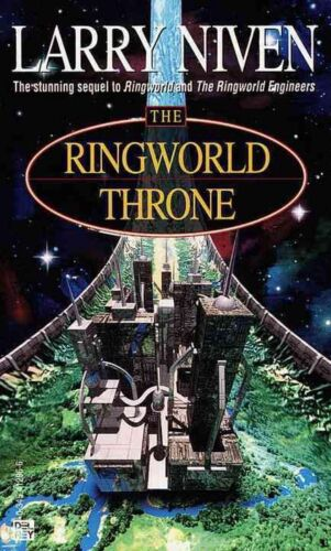 The Ringworld Throne by Larry Niven (English) Mass Market Paperback Book Free Sh