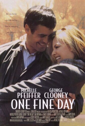 One Fine Day VHS Movie Michelle Pfeiffer George Clooney Free Post