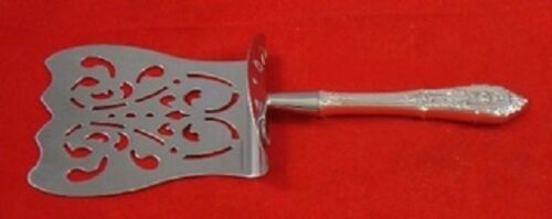 Rose Point by Wallace Sterling Silver Asparagus Server Hooded HHWS  Custom