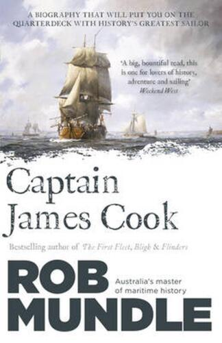 Captain James Cook by Rob Mundle (English) Paperback Book Free Shipping!