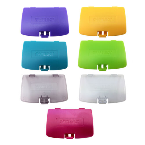 NINTENDO GAME BOY COLOUR REPLACEMENT BATTERY COVER GBC Gameboy Color